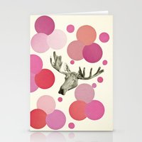 Strawberry Moose Stationery Cards