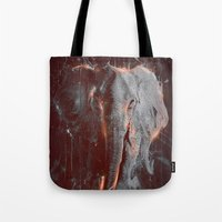 DARK ELEPHANT Tote Bag