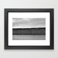 Along The Hudson Framed Art Print