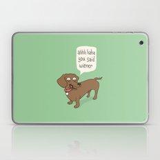 Immature Dachshund Laptop & iPad Skin