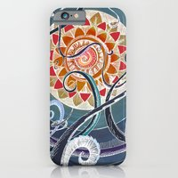 iPhone & iPod Case featuring Lotus by brenda erickson