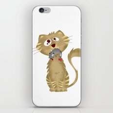 Cat Gift iPhone & iPod Skin