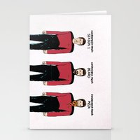 Stages of Riker Stationery Cards
