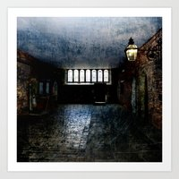 In the Room of Shadow and Light Art Print