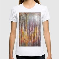 Sun Rise Womens Fitted Tee Ash Grey SMALL