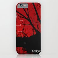 I am haunted when I am sleeping iPhone 6 Slim Case