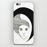 Fashion Illustration 4  iPhone & iPod Skin
