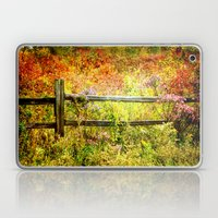 Split Rail and Fall Textures Laptop & iPad Skin