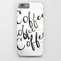 COFFEE COFFEE COFFEE iPhone 6 Slim Case