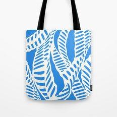 Al Peas: Blue Ivory Tote Bag