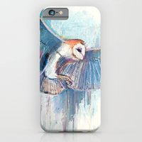 iPhone & iPod Case featuring Broken Owl by PepperBird