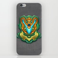 Summer Totem Green iPhone & iPod Skin