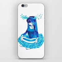 Baby Blue #4 iPhone & iPod Skin