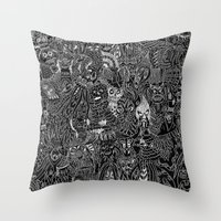 Peepers Throw Pillow