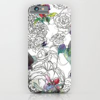 iPhone & iPod Case featuring English Garden by LisaStannard