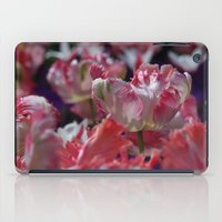Candy Parrot Tulips iPad Case