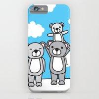 Polar Bear Family iPhone 6 Slim Case