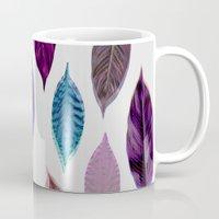 Pink Leaves 2 Mug
