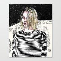 I'm not like them, but i can pretend. -  Kurt c Canvas Print
