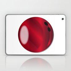 Red Bowling Ball Laptop & iPad Skin