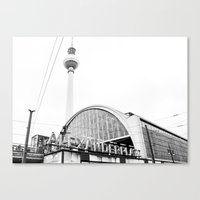 Berlin Alexandraplatz Canvas Print