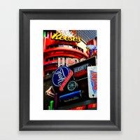 Candy Lane Framed Art Print