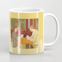 Card players by Cezanne Mug