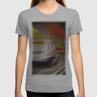 Dartford Tunnel 2 Womens Fitted Tee Athletic Grey SMALL