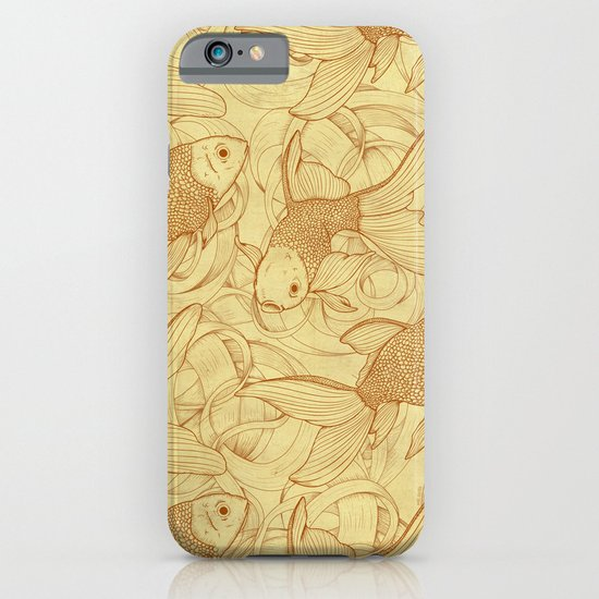 Vintage Goldfishes II iPhone & iPod Case