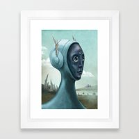 Archaeology Of Dreams Framed Art Print