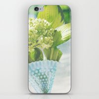 Fenton Hobnail Hostas iPhone & iPod Skin