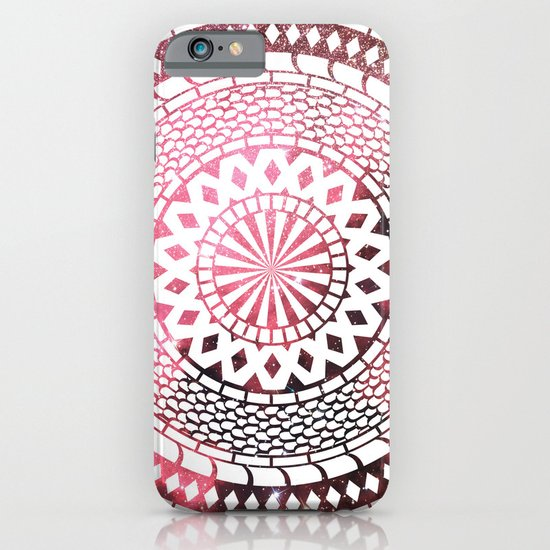 Nebula Snake Mandala iPhone & iPod Case