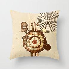 hypnotism Throw Pillow