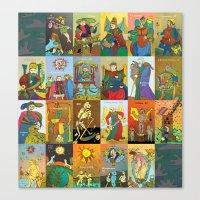 Tarot Of Marseilles Canvas Print