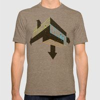 Game On Mens Fitted Tee Tri-Coffee SMALL