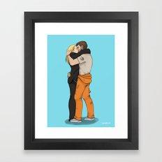 Across The Universe(s) V2.0 Framed Art Print