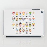Princess Alphabet iPad Case