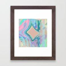 Abstract Pastel No. 14 Framed Art Print