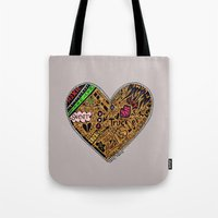 mini heart Tote Bag