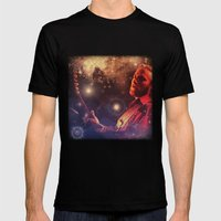 Stills In The Sky Mens Fitted Tee Black SMALL