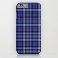 iPhone & iPod Case featuring Citadel Military Acedemy Tartan by Paul James Farr