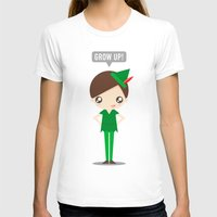 peter pan T-shirts featuring Peter Pan by oyoyoi