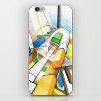 geometry iPhone & iPod Skin
