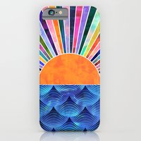 iPhone & iPod Case featuring Sunset by Schatzi Brown