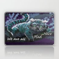 We Are Mad Here  Laptop & iPad Skin