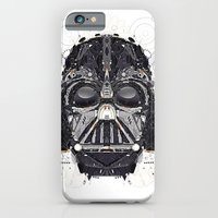 darth vader iPhone & iPod Cases featuring darth vader by yoaz