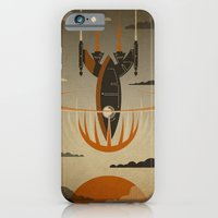 iPhone Cases featuring The Return by The Art of Danny Haas