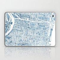 Philadelphia City Map Laptop & iPad Skin