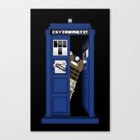 Dr. Dalek Canvas Print