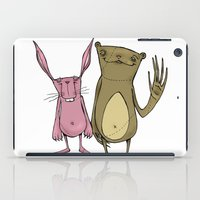 Bunny And Bear Friends  iPad Case